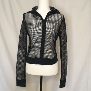 Guess jeans mesh hoodie. Size medium